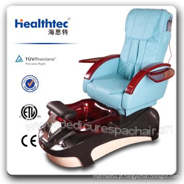 Beleza cadeira de vidro pu pé pedicure cadeira (b501-51)
