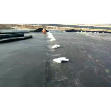 HDPE 1.5 mm membrane pond  liner for landfill  project