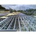 Легкая стальная ферма крыши и балка пола