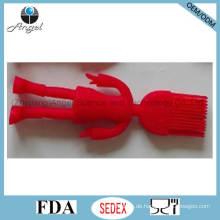 Kid's Silikon Backwerkzeug Pinsel mit menschlicher Form Sb11