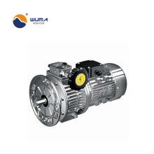 Speed variator electric motor gearbox