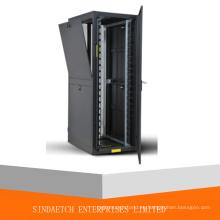 Gabinete de servidor y rack de red con puerta ventilada de alta densidad