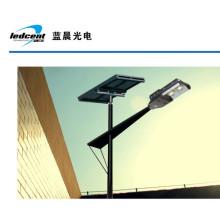 80W luz de rua solar do diodo emissor de luz com certificação do CE RoHS FCC