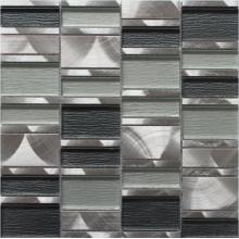 серебряный серый из нержавеющей стали мозаики