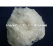 Usine chinoise pure fibre de cachemire épilée ivoire 16.5mic 26-38mm