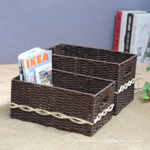 (BC-RB1005) Durable Handmade Paper Rope Basket