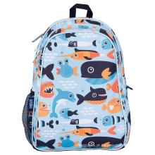 Bolsa escolar com mochila infantil pré-escolar.