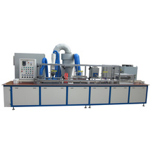 Automatic rotor slot insulating powder coating machine