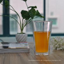 16oz großes doppelwandiges Trinkglas