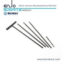 Borekare caça militar multi-seção Blackened Rod Rod Set