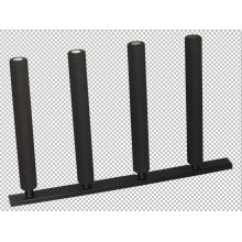 Steel frame surfboard storage rack
