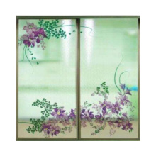 5mm 6mm high temperature digital printing glass for interior decoration partition