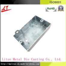 Крышка переключателя литья под давлением из алюминиевого сплава, используемая в светодиодном освещении и машинном устройстве