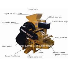 Tipo de motor eléctrico de desmotador de maíz