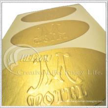 2016 beliebte Design, selbstklebende Metall Aufkleber, Papier Aufkleber, PVC & Pet Aufkleber (KG-ST009)