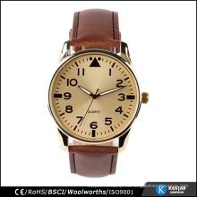 Reloj de la parte posterior del acero inoxidable del cuarzo 3atm, cuarzo de la excelencia del reloj del mens