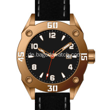 Luxury Zinn Bronze Herrenuhr