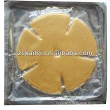 Masque de poitrine de collagène 24k or soin du corps