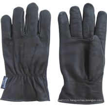 Cow Grain Leather Fully Thinsulate Lined Driver Work Glove--9018