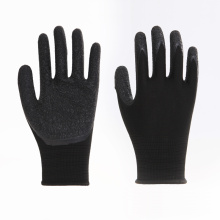 Latex Rubber Coated Safety Work Gloves