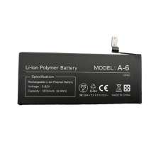 Replacement AAA Grade PSE 3.82V 1810mAh best cell phone battery for iphone 6 battery