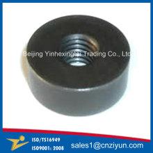 Custom Metal Round Threaded Washers by Machinning