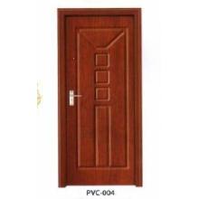 Porte en bois en PVC pour cuisine ou salle de bain (pd-008)