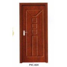PVC Wooden Door for Kitchen or Bathroom (pd-008)