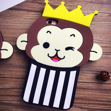 silicone case 3D cartoon phone case