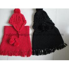 Promoção Senhora Winter Warm Knitted Acrílico Set