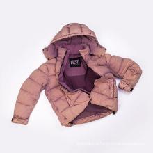 100% algodão vestuário feminino tingido jaqueta