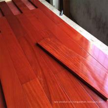 Suelo de madera de caoba Santos preacabado / suelo de madera Balsamo