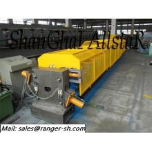 Rouleau de tuyau de descente carré formant la machine / froid tube machine à rouler