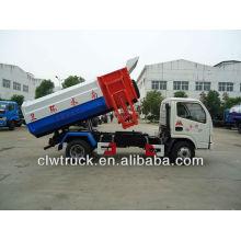 Dongfeng мини 4-5 тонн мусоровоз с подъемным механизмом