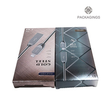 Customized fancy usb paper packaging box