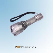 150 люмен CREE Xr-E Q5 высокой мощности тактический светодиодный фонарик (POPPAS-C10)