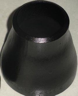 Hitam Carbon Steel konsentris Reducer