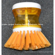 Kitchen Helper Plastic Cleaning Brush for Dish, Pan and Pot (ZT10011)