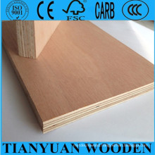 4mm/5mm/6mm, 1220*2440mm Okoume/Bintangor/Packing Commercial Plywood