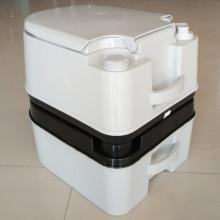 10L HDPE WC Plástico WC WC portátil