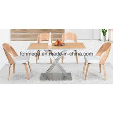 Wood 4 Seater Restaurant furniture (FOH-BCA02)