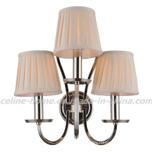 Classical Iron Wall Lamp with Fabric Shade (SL2016-3W)