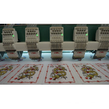 High speed 6 heads embroidery machine