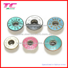 Custom Metal Jeans Button with Colorful Enamel (TC-BU049)