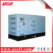 Radiator and fan with safety guard diesel engine generator