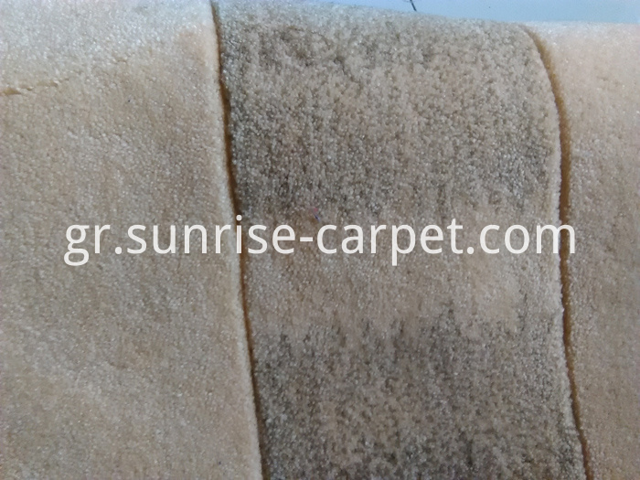 Acrylic Hand Tufted Carpet mix yarn blading color