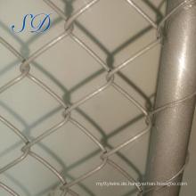 Günstige Großhandel Bau Kette Link 2.1x2.4m temporäre Zaun