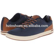 China-Fabrik-Segeltuch-Schuhe preiswerter Großverkauf für Männer