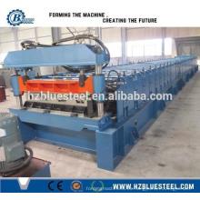 Proveedor de China Placa de piso Junta de laminado de rollo de la máquina / Plata de piso de acero metálico formando la máquina para la venta China Alibaba proveedor