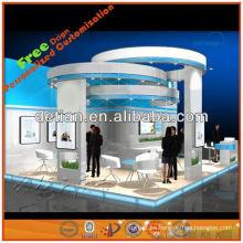diseño de exhibiciones comerciales de Shanghai, China 20 '* 20'